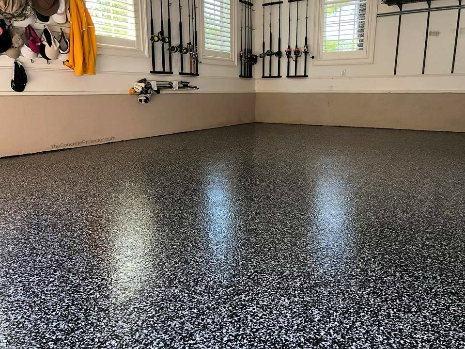 epoxy floor garage