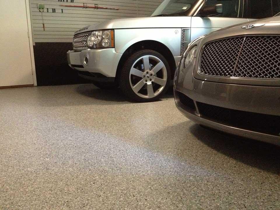 epoxy coating garage floor